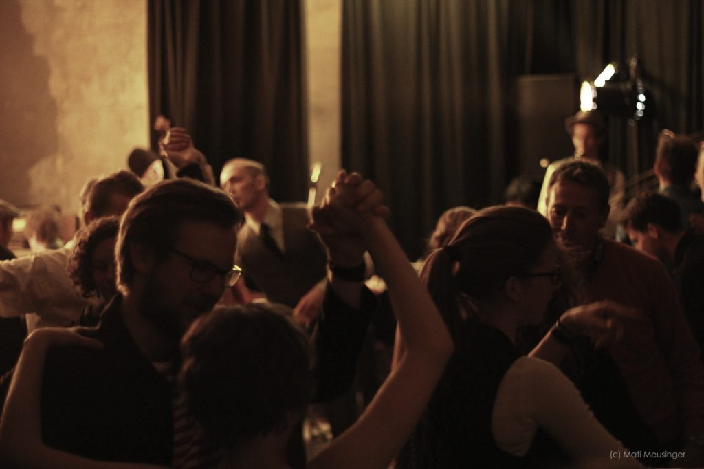 Swing Tanz Party in Berlin mit Hot Jazz Band Time Rag Department